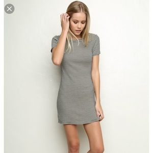Brandy Melville striped tee dress